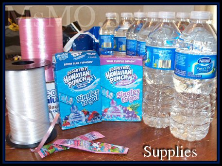 Water Bottle Supplies